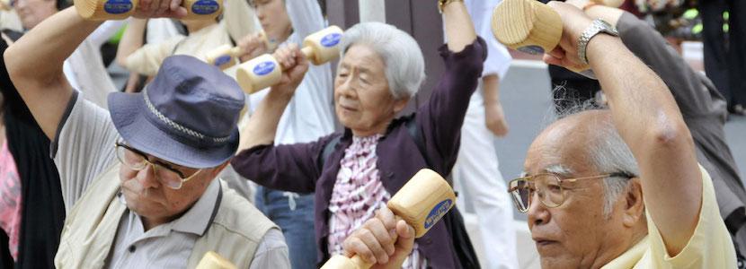 Afbeeldingsresultaat voor vergrijzing in Japan