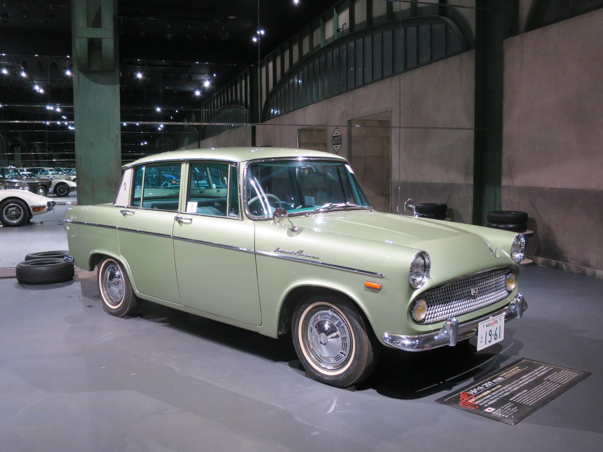 Toyota megaweb en history garage katern japan for Garage mercedes gap